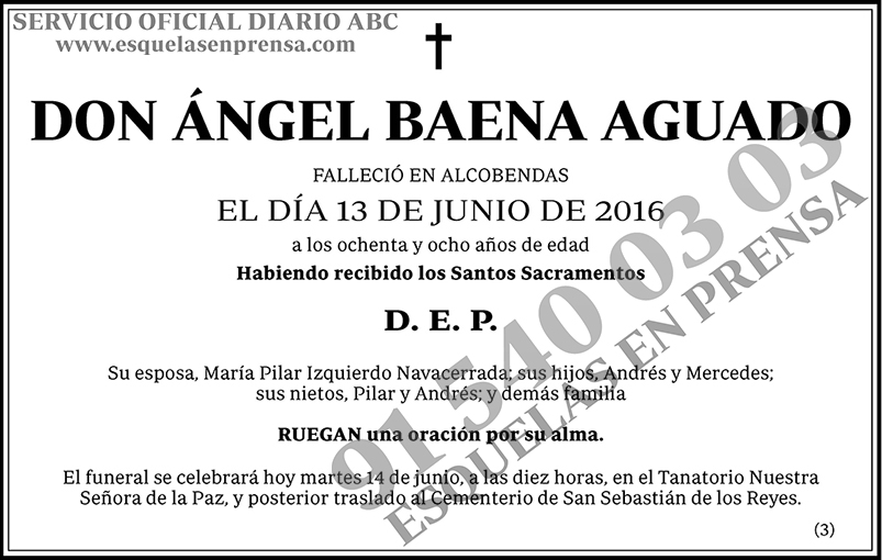 Ángel Baena Aguado